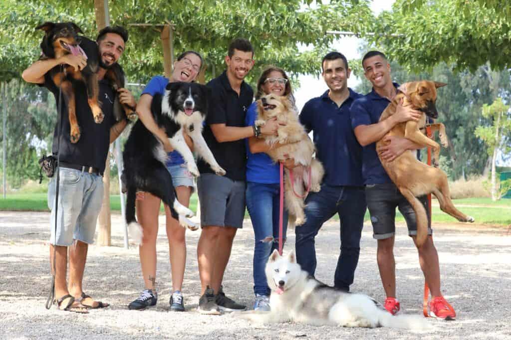 צוות מרכז הכלב והאדם